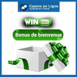 Bonus de bienvenue sur Winoui Casino