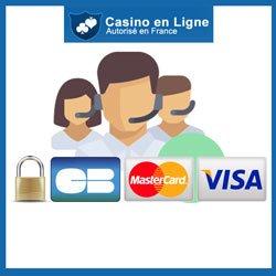 Paiement et assistance sur Winoui Casino